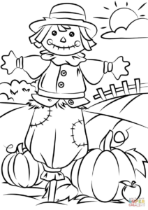 coloriage automne à imprimer maternelle de la catégorie coloriage automne