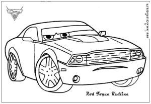 coloriage cars 2 à imprimer de la catégorie coloriage cars