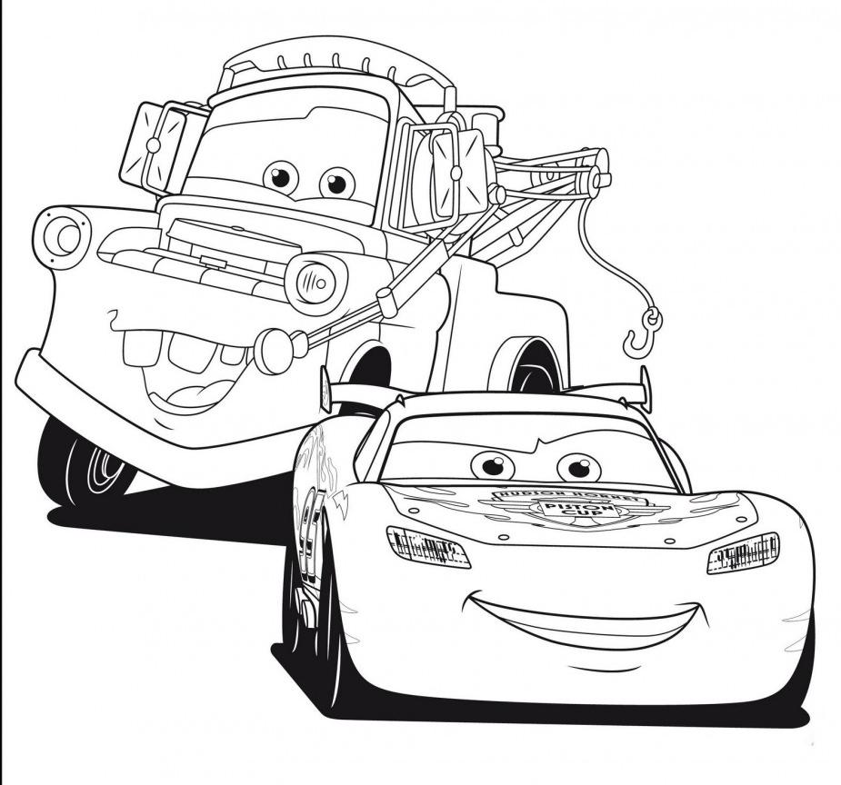 coloriage cars de la catégorie coloriage cars
