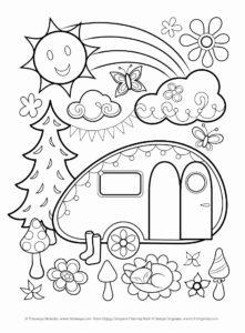 coloriage de camping-car a imprimer gratuit de la catégorie coloriage cars