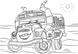 coloriage gratuit à imprimer cars 3 de la catégorie coloriage cars