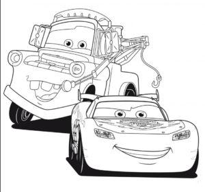 coloriage cars à imprimer gratuit de la catégorie coloriage cars