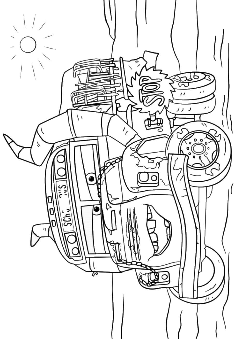 coloriage cars 3 gratuit de la catégorie coloriage cars