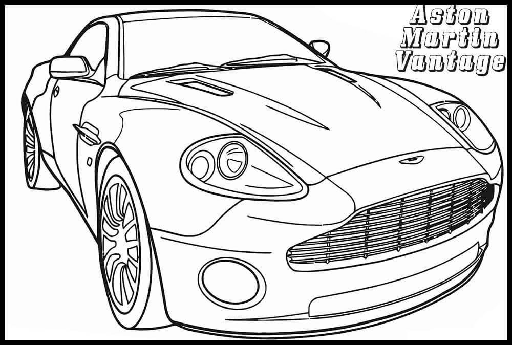 coloriage cars martin de la catégorie coloriage cars