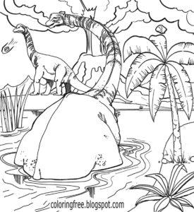 coloriage dinosaure jurassic world de la catégorie coloriage dinosaure