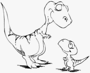 coloriage dinosaures en ligne gratuit à imprimer de la catégorie coloriage dinosaure