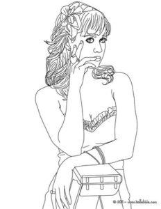 coloriage princesse disney à imprimer hugo l'escargot de la catégorie coloriage disney