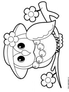 coloriage fille 6 ans à imprimer de la catégorie coloriage fille