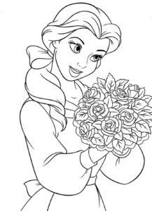 coloriage à imprimer gratuit petite fille de la catégorie coloriage fille