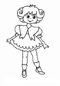 coloriage fille 4 ans princesse de la catégorie coloriage fille