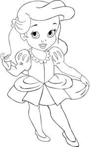 coloriage fille 6 ans princesse de la catégorie coloriage fille
