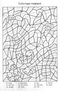 coloriage magique table de multiplication ce2 pdf de la catégorie coloriage magique ce2