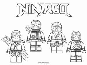 coloriage ninjago le film a imprimer de la catégorie coloriage ninjago