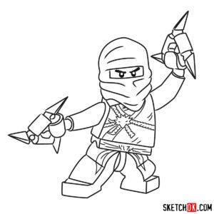 dessin lego ninjago saison 11 de la catégorie coloriage ninjago
