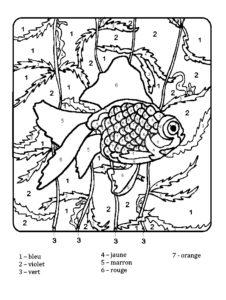 coloriage magique papillon ce2 de la catégorie coloriage papillon