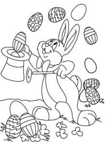 coloriage magique de paques maternelle de la catégorie coloriage paques