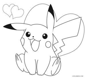 coloriage pikachu gratuit de la catégorie coloriage pikachu