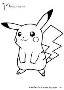 coloriage à imprimer kawaii pikachu de la catégorie coloriage pikachu