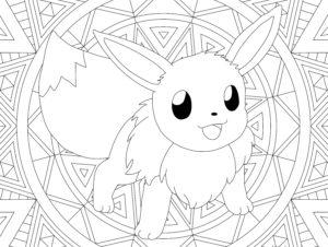 coloriage pokemon pikachu mandala de la catégorie coloriage pikachu
