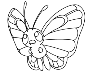 coloriage pokemon papilusion gigamax de la catégorie coloriage pokemon