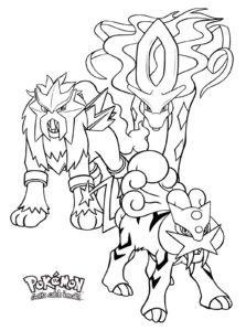 coloriage pokemon legendaire à imprimer gratuit de la catégorie coloriage pokemon