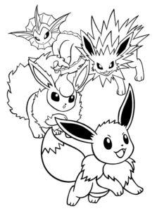coloriage pokemon de la catégorie coloriage pokemon