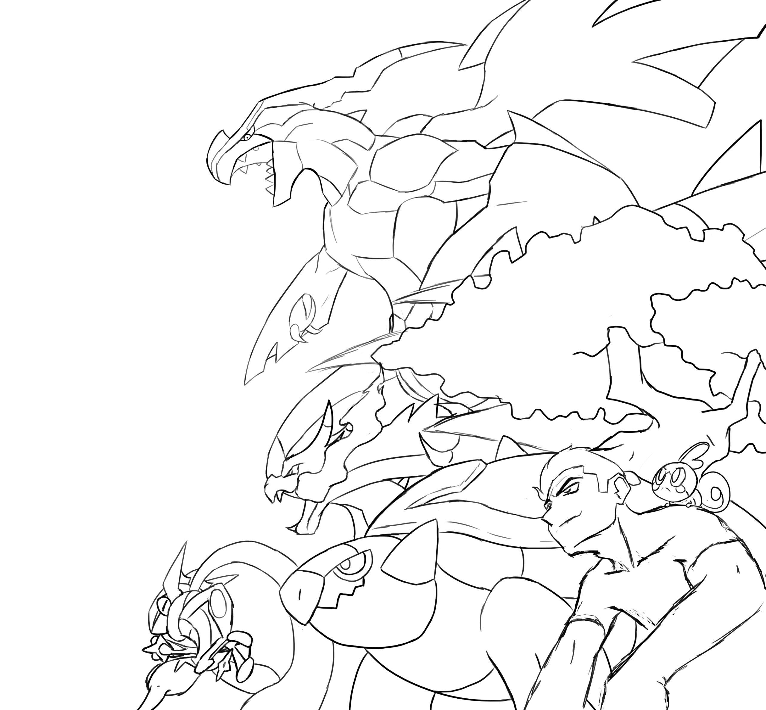 dessin pokémon épée bouclier de la catégorie coloriage pokemon