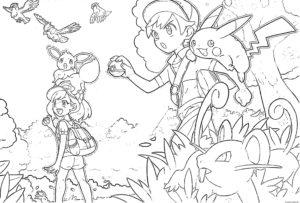 coloriage pokemon epee et bouclier de la catégorie coloriage pokemon