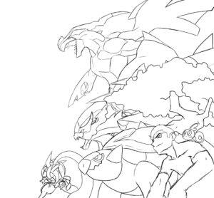 dessin pokemon epee et bouclier de la catégorie coloriage pokemon