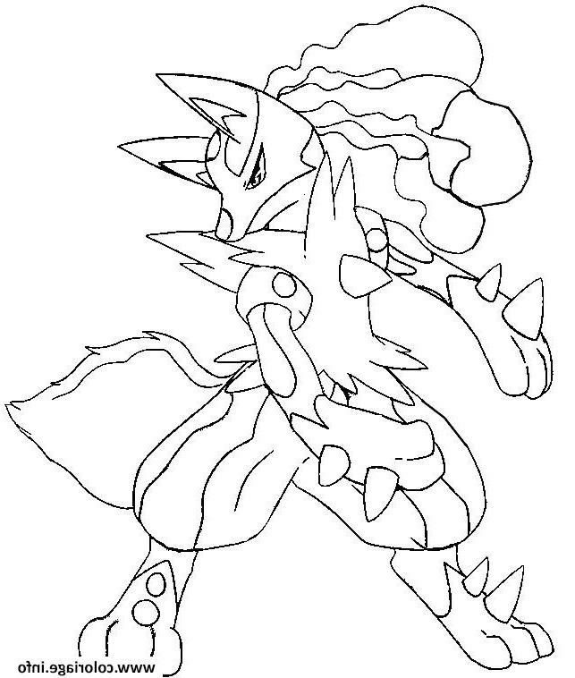 coloriage pokemon mega evolution evoli de la catégorie coloriage pokemon