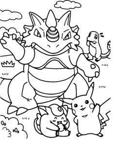 coloriage pokemon imprimer gratuit de la catégorie coloriage pokemon