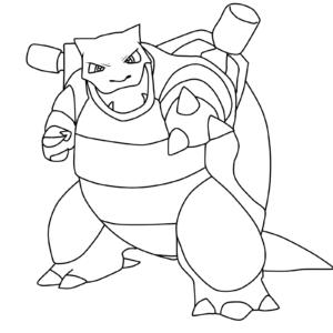 coloriage pokemon tortank imprimer de la catégorie coloriage pokemon