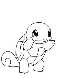 coloriage pokemon carapuce imprimer de la catégorie coloriage pokemon