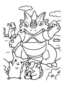 coloriage pokemon imprimer de la catégorie coloriage pokemon