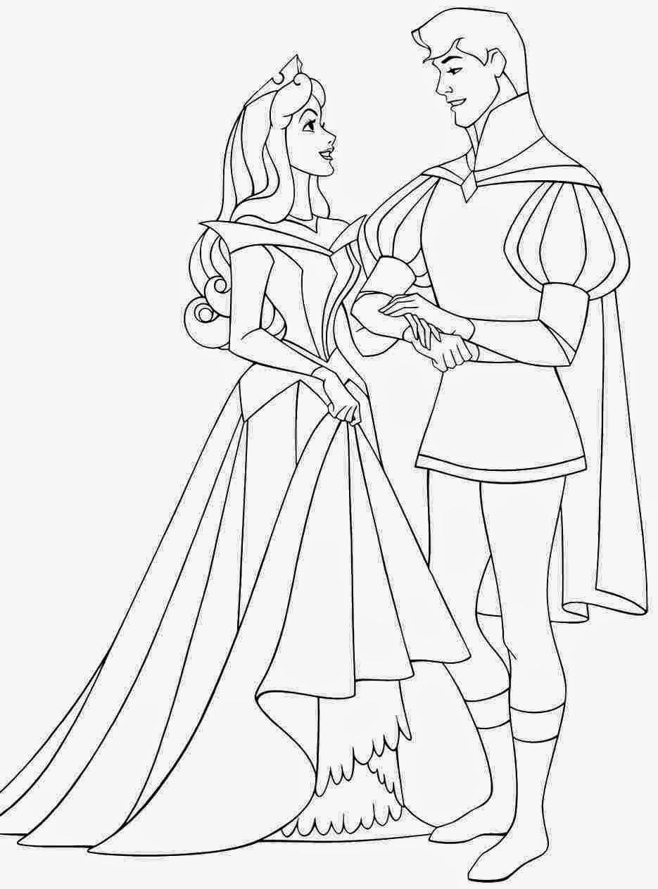 coloriage a imprimer disney princesse aurore de la catégorie coloriage princesse