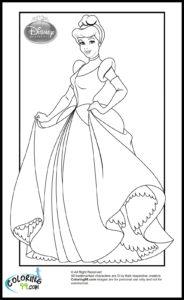 coloriage princesse disney de la catégorie coloriage princesse disney
