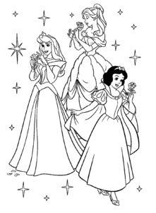 coloriage princesse disney gratuit en ligne de la catégorie coloriage princesse disney