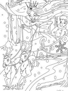 coloriage reine des neiges 2 pdf de la catégorie coloriage reine des neiges 2