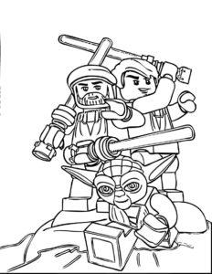 coloriage star wars lego imprimer de la catégorie coloriage star wars