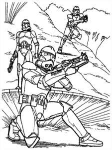 coloriage à imprimer gratuit star wars 7 de la catégorie coloriage star wars