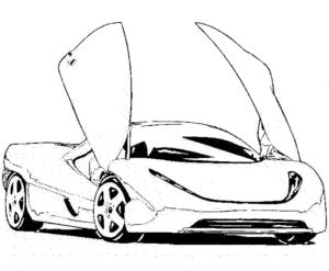 coloriage voiture de course pdf de la catégorie coloriage voiture