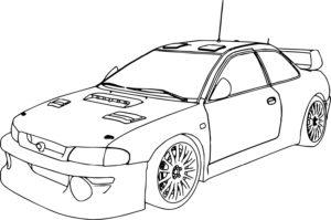 coloriage gratuit voiture de rallye a imprimer de la catégorie coloriage voiture