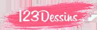 123Dessins | Source #1 des Dessins coloriage Faciles, Imprimer, Dessiner et Colorier !